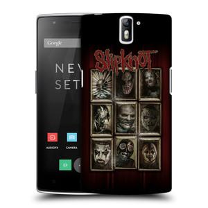 Plastové pouzdro na mobil OnePlus One HEAD CASE Slipknot - Masky