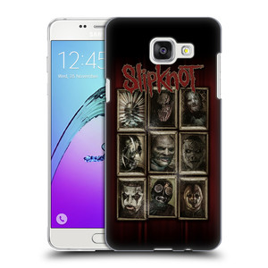 Plastové pouzdro na mobil Samsung Galaxy A5 (2016) HEAD CASE Slipknot - Masky