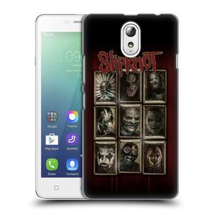 Plastové pouzdro na mobil Lenovo Vibe P1m HEAD CASE Slipknot - Masky