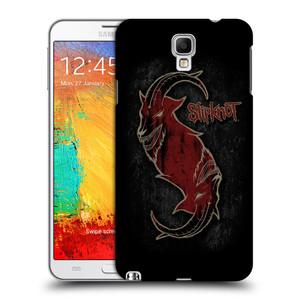 Plastové pouzdro na mobil Samsung Galaxy Note 3 Neo HEAD CASE Slipknot - Rudý kozel
