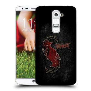 Plastové pouzdro na mobil LG G2 HEAD CASE Slipknot - Rudý kozel