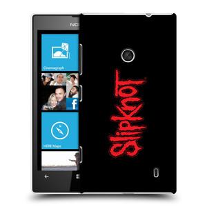 Plastové pouzdro na mobil Nokia Lumia 520 HEAD CASE Slipknot - Logo