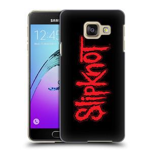 Plastové pouzdro na mobil Samsung Galaxy A3 (2016) HEAD CASE Slipknot - Logo