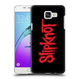 Plastové pouzdro na mobil Samsung Galaxy A5 (2016) HEAD CASE Slipknot - Logo