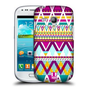 Plastové pouzdro na mobil Samsung Galaxy S3 Mini VE HEAD CASE AZTEC SUGARED