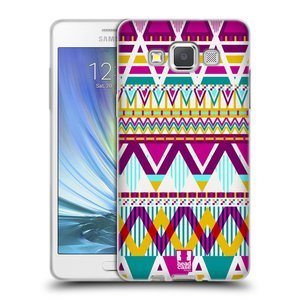 Silikonové pouzdro na mobil Samsung Galaxy A5 HEAD CASE AZTEC SUGARED