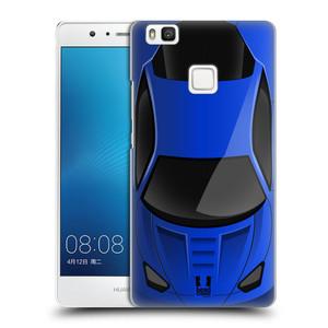 Plastové pouzdro na mobil Huawei P9 Lite HEAD CASE AUTO MODRÉ