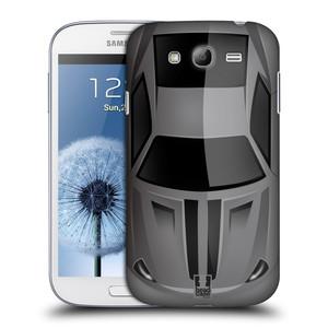 Plastové pouzdro na mobil Samsung Galaxy Grand Neo HEAD CASE AUTO ŠEDÉ
