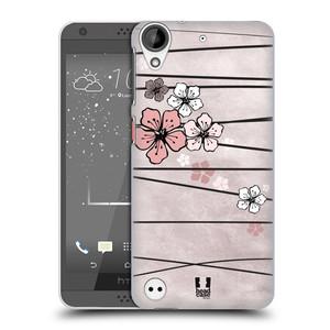 Plastové pouzdro na mobil HTC Desire 530 HEAD CASE BLOSSOMS PAPER