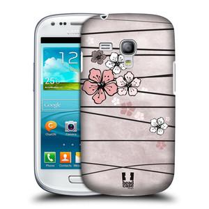 Plastové pouzdro na mobil Samsung Galaxy S3 Mini VE HEAD CASE BLOSSOMS PAPER