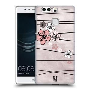Plastové pouzdro na mobil Huawei P9 Plus HEAD CASE BLOSSOMS PAPER