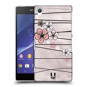 Plastové pouzdro na mobil Sony Xperia Z2 D6503 HEAD CASE BLOSSOMS PAPER