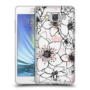 Silikonové pouzdro na mobil Samsung Galaxy A5 HEAD CASE BLOSSOMS SPRINGTIME