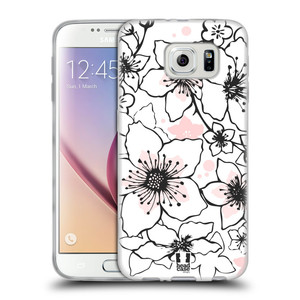 Silikonové pouzdro na mobil Samsung Galaxy S6 HEAD CASE BLOSSOMS SPRINGTIME