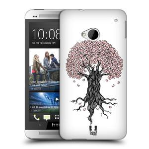 Plastové pouzdro na mobil HTC ONE M7 HEAD CASE BLOSSOMS TREE