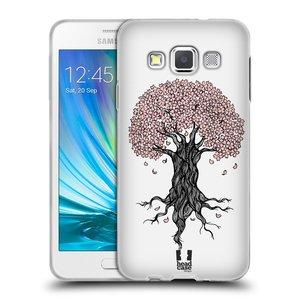 Silikonové pouzdro na mobil Samsung Galaxy A3 HEAD CASE BLOSSOMS TREE