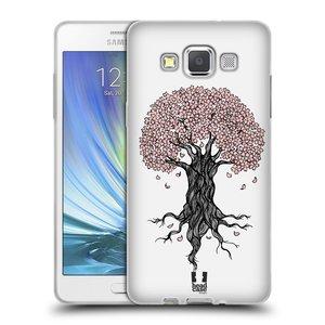 Silikonové pouzdro na mobil Samsung Galaxy A5 HEAD CASE BLOSSOMS TREE
