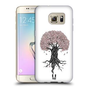 Silikonové pouzdro na mobil Samsung Galaxy S7 Edge HEAD CASE BLOSSOMS TREE