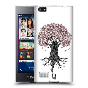 Silikonové pouzdro na mobil Blackberry Leap HEAD CASE BLOSSOMS TREE