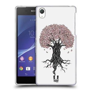 Silikonové pouzdro na mobil Sony Xperia Z2 D6503 HEAD CASE BLOSSOMS TREE