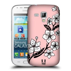 Plastové pouzdro na mobil Samsung Galaxy Trend HEAD CASE BLOSSOMS VINE