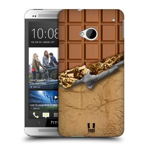 Plastové pouzdro na mobil HTC ONE M7 HEAD CASE ČOKOFOILED