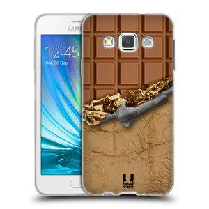 Silikonové pouzdro na mobil Samsung Galaxy A3 HEAD CASE ČOKOFOILED