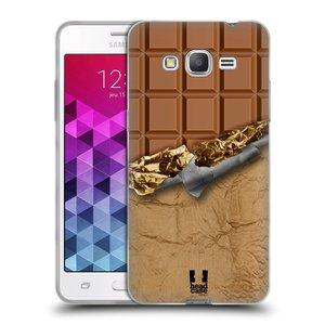 Silikonové pouzdro na mobil Samsung Galaxy Grand Prime HEAD CASE ČOKOFOILED