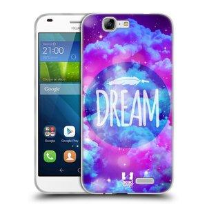Silikonové pouzdro na mobil Huawei Ascend G7 HEAD CASE CHROMATIC DREAM