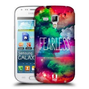 Plastové pouzdro na mobil Samsung Galaxy Trend HEAD CASE CHROMATIC FEARLESS