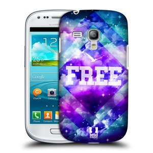 Plastové pouzdro na mobil Samsung Galaxy S3 Mini VE HEAD CASE CHROMATIC FREE
