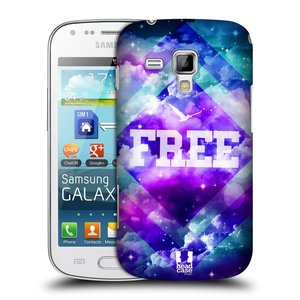 Plastové pouzdro na mobil Samsung Galaxy Trend HEAD CASE CHROMATIC FREE