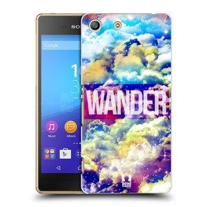 Plastové pouzdro na mobil Sony Xperia M5 HEAD CASE CHROMATIC WANDER