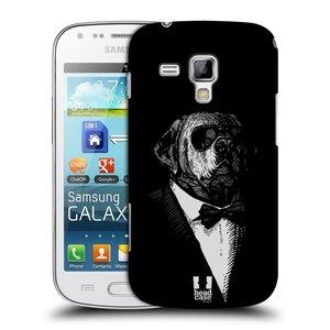 Plastové pouzdro na mobil Samsung Galaxy S Duos HEAD CASE PSISKO V KVÁDRU
