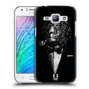 Plastové pouzdro na mobil Samsung Galaxy J1 HEAD CASE LEV V KVÁDRU