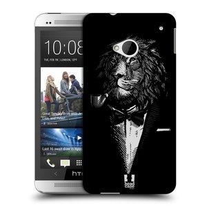 Plastové pouzdro na mobil HTC ONE M7 HEAD CASE LEV V KVÁDRU