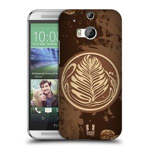 Plastové pouzdro na mobil HTC ONE M8 HEAD CASE Coffee Art