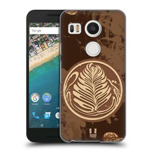 Plastové pouzdro na mobil LG Nexus 5X HEAD CASE Coffee Art