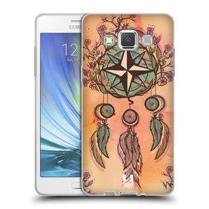 Silikonové pouzdro na mobil Samsung Galaxy A5 HEAD CASE Lapač kompas