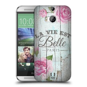 Plastové pouzdro na mobil HTC ONE M8 HEAD CASE LIFE IN THE COUNTRY BELLE