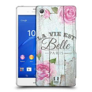 Plastové pouzdro na mobil Sony Xperia Z3 D6603 HEAD CASE LIFE IN THE COUNTRY BELLE