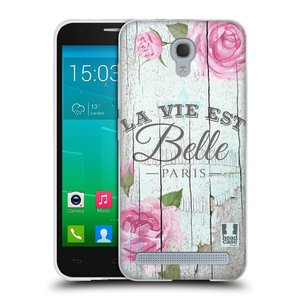 Silikonové pouzdro na mobil Alcatel One Touch Idol 2 Mini S 6036Y HEAD CASE LIFE IN THE COUNTRY BELLE