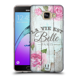Silikonové pouzdro na mobil Samsung Galaxy A3 (2016) HEAD CASE LIFE IN THE COUNTRY BELLE