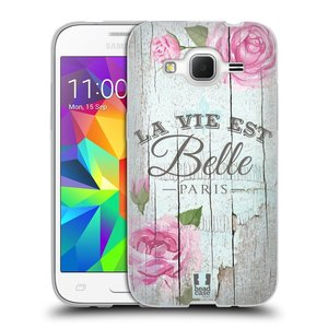 Silikonové pouzdro na mobil Samsung Galaxy Core Prime LTE HEAD CASE LIFE IN THE COUNTRY BELLE
