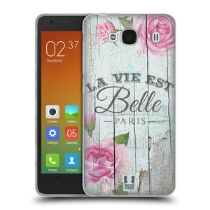 Silikonové pouzdro na mobil Xiaomi Redmi 2 HEAD CASE LIFE IN THE COUNTRY BELLE