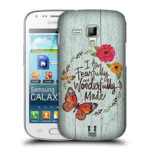 Plastové pouzdro na mobil Samsung Galaxy Trend HEAD CASE LIFE IN THE COUNTRY WONDERFULLY