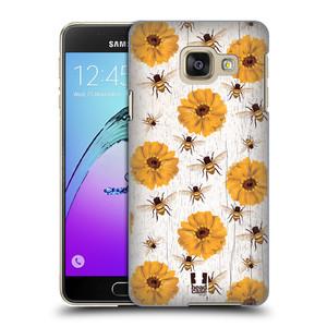 Plastové pouzdro na mobil Samsung Galaxy A3 (2016) HEAD CASE LIFE IN THE COUNTRY ZINNIAS