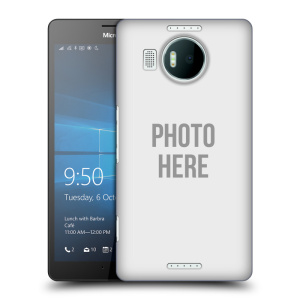 Plastové pouzdro na mobil Microsoft Lumia 950 XL HEAD CASE s vlastním motivem