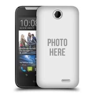 Plastové pouzdro na mobil HTC Desire 310 HEAD CASE s vlastním motivem