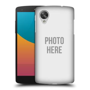 Plastové pouzdro na mobil LG Nexus 5 HEAD CASE s vlastním motivem